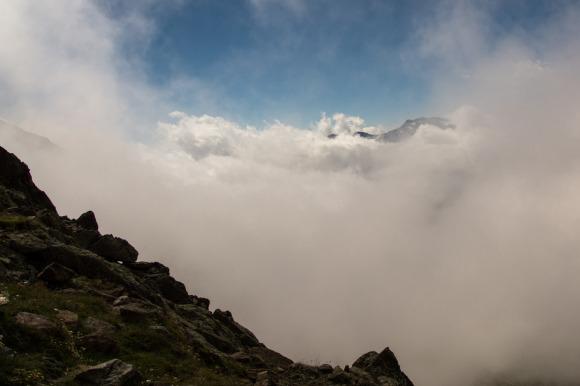 Wolken ziehen rein