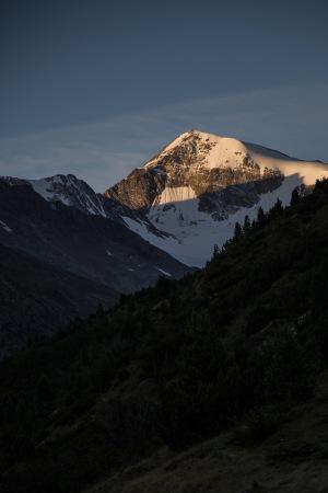 Venter Berge im Morgenlicht