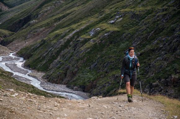 Weg von Vent zur Martin Busch Hütte