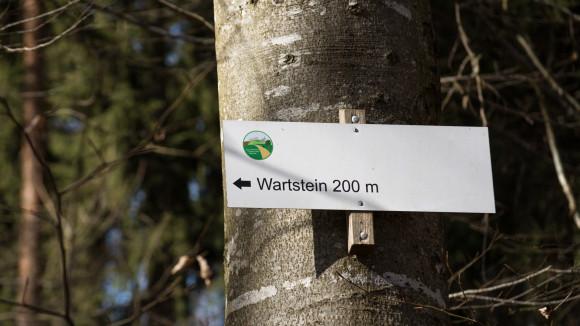 Zur Ruine Wartstein