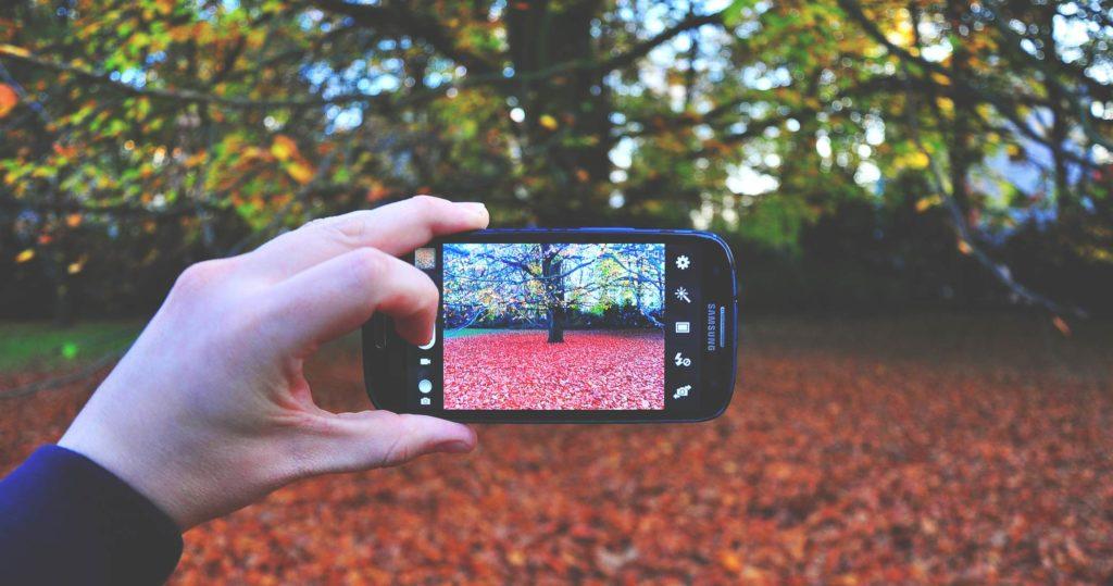 Ausrüstung Naturfotografie Smartphone