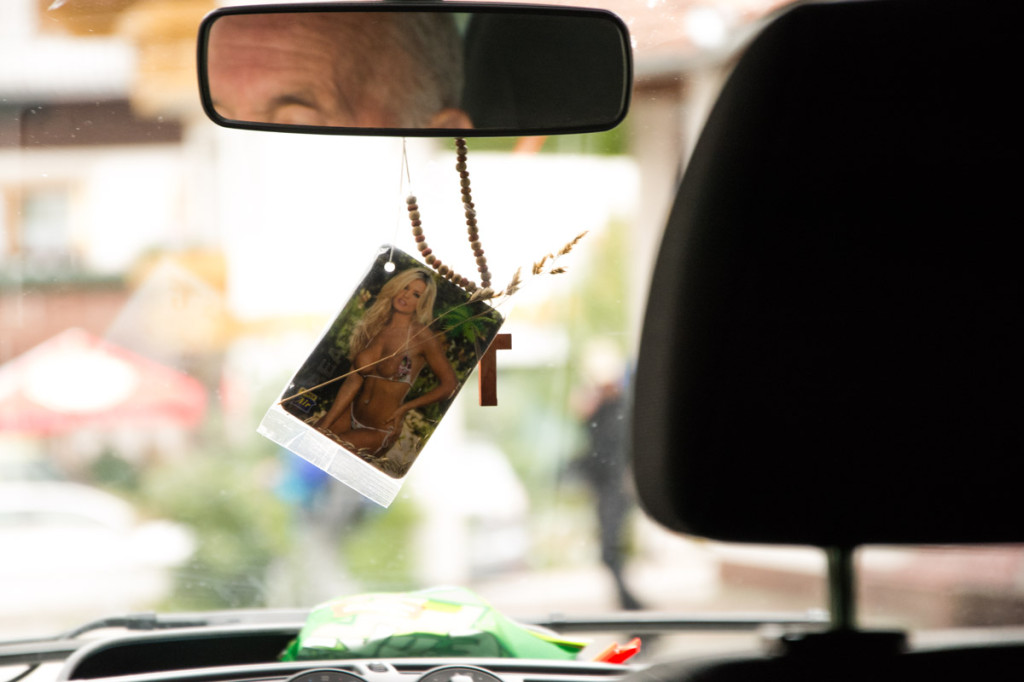 Fahrt im E5-Taxi