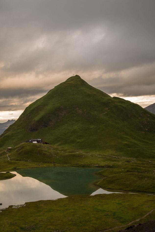 Seekogel, Unterer Seewisee und Memmiger Hütte