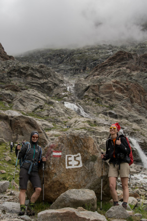 Markierung E5 Wanderweg